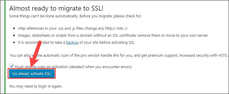 lỗi kích hoạt ssl trên clouflare