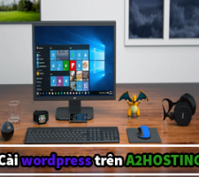 cài wordpress trên a2hosting