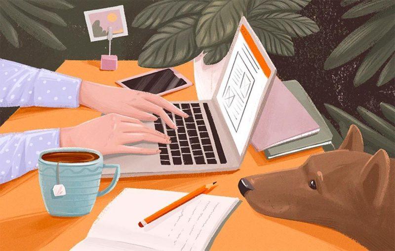 viết content tại nhà